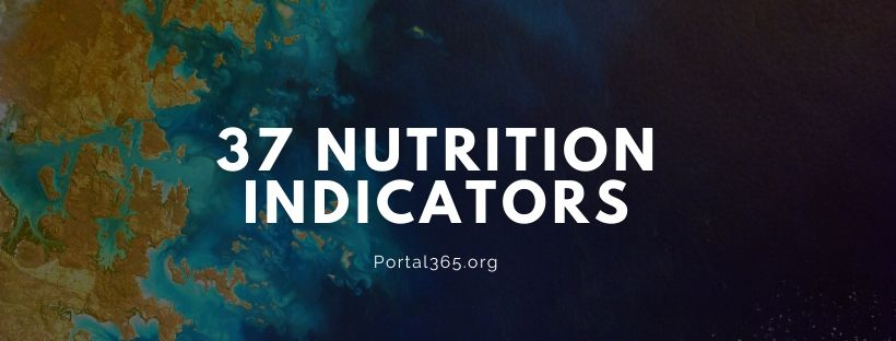 37 nutrition indicators